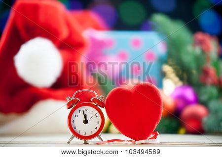Alarm Clock And Heart Shape Toy