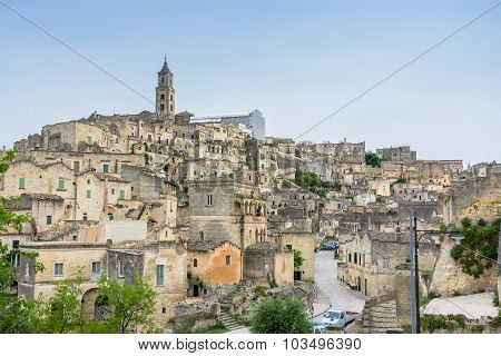 Ancient Town Of Matera, Basilicata, Italy