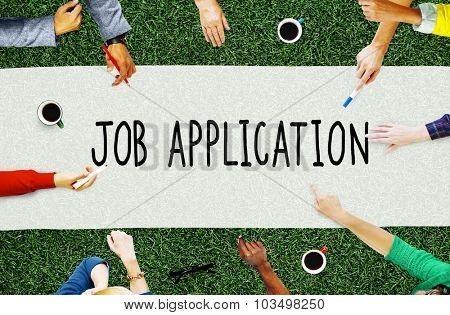 Job Application Career Employment Concept