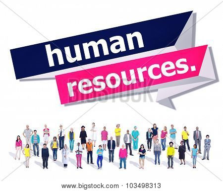 Human Resources Employment Job Recruitment Concept