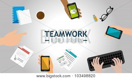 Business teamwork deveploment