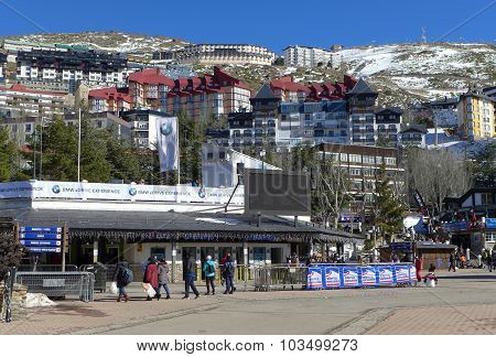 Sierra Nevas Ski Resort (near Granada Spain)
