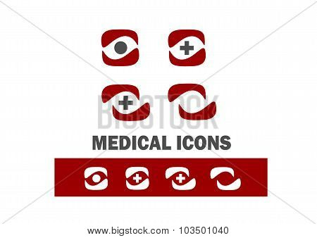 Medical illustrations and icons design