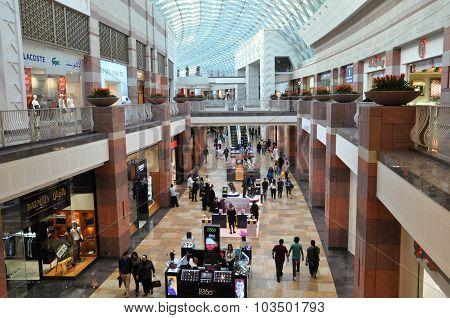 Festival Centre Mall in Dubai, UAE