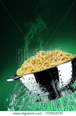 Drain The Spaghetti