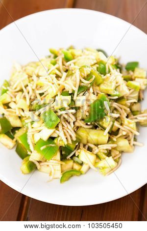 Celery Salad With Peppers