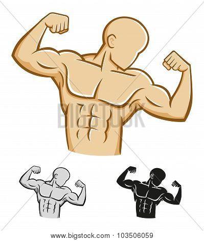 Body Builder Athlete Figure