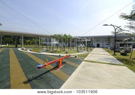 Children Playground at Ara Damansara Mosque in Selangor, Malaysia