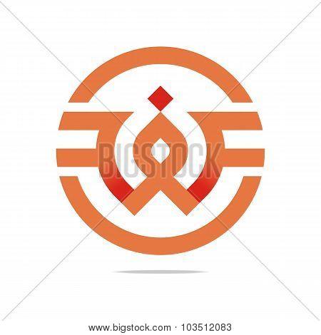 Logo element letter design symbol