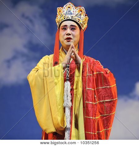 Chinese Opera : Monkey King : Flaming Mountain