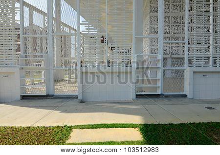 Ablution of Ara Damansara Mosque in Selangor, Malaysia