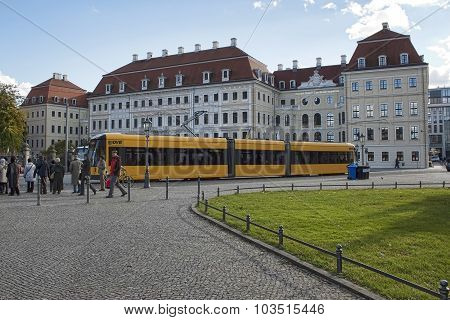 In The Central Part Of The Old Dresden