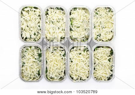 Raw Spinach With Cheese
