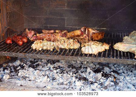 Traditional Argentinian Asado