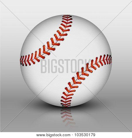 Vector Baseball Ball