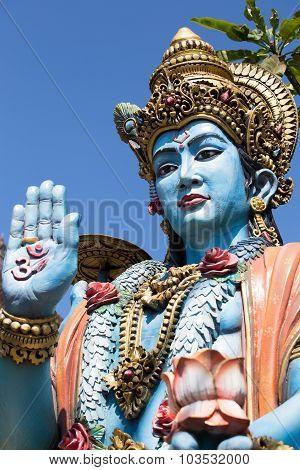 Shiva Statue In Bali, Indonesia