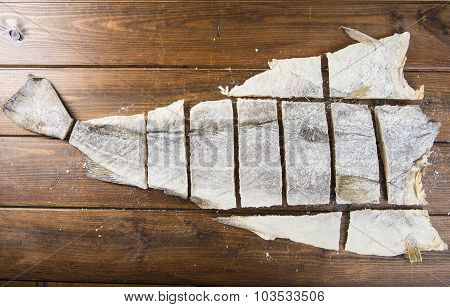 Traditional Cut Of Salted Cod