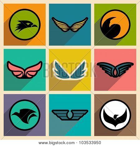 stylish logos Eagles