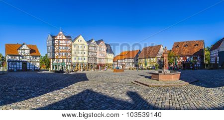 Market Place At Hessenpark In Neu Anspach
