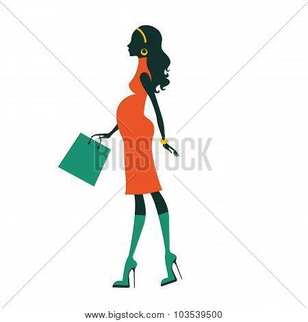 Chic pregnancy shopping