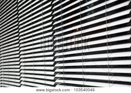 Metal Blinds Background Texture