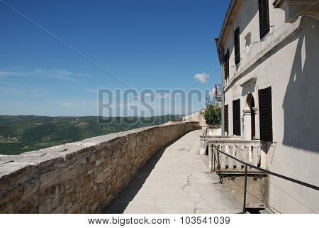 Buildings In Motovun