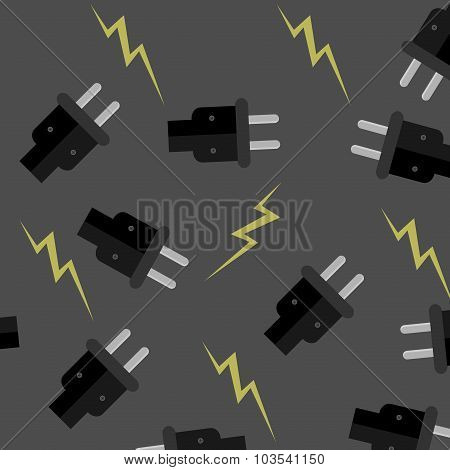 Seamless Pattern Electricity