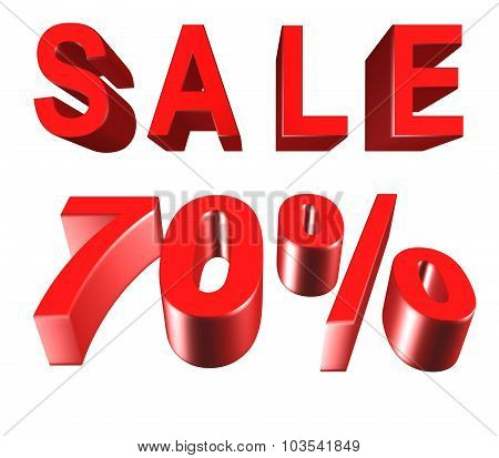 Sale - Price Reduction Of 70 Percent