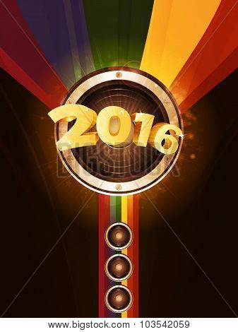 New Years Party 2016 Background