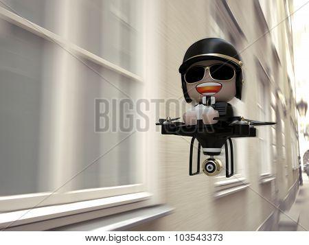Policedrone.