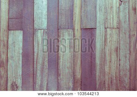 Wood Texture Background, Vintage Toning