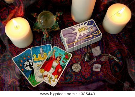 Tarot And Candles