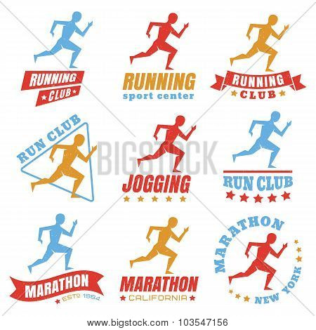 logos for running club