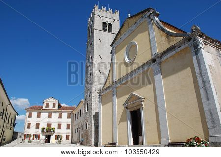 Saint Stephens Church In Motovun