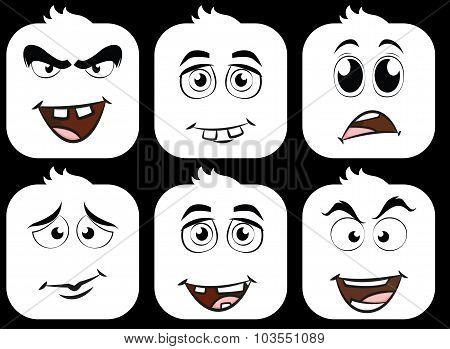 Face expressions-emoji