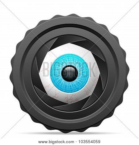 Photo Camera Eye
