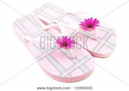 Zapatillas de cuadros rosa