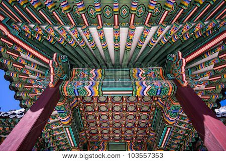 Changdeokgung Architecture Ceiling
