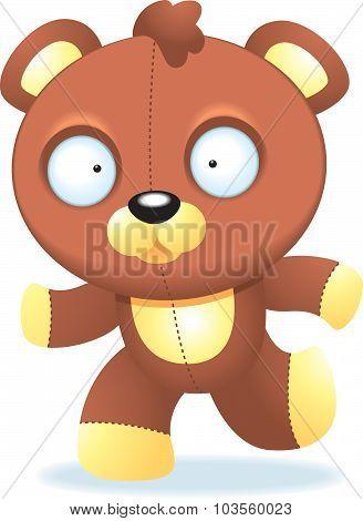 Teddy Bear Running