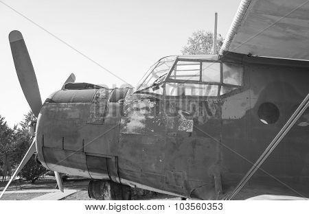 Old Biplane.