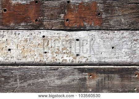 Oak planks background