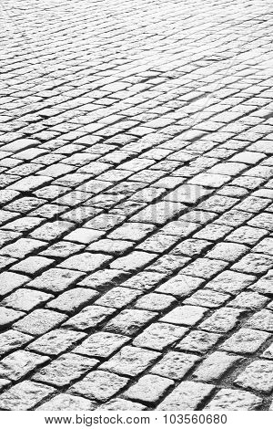 Abstract Cobble Stone Background