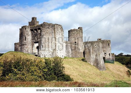 Kidwelly Castle, Kidwelly, Carmarthenshire, Wales