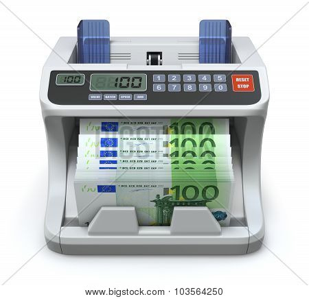 Electronic money counter
