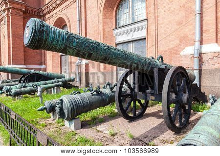 Ancient Bronze Cannon