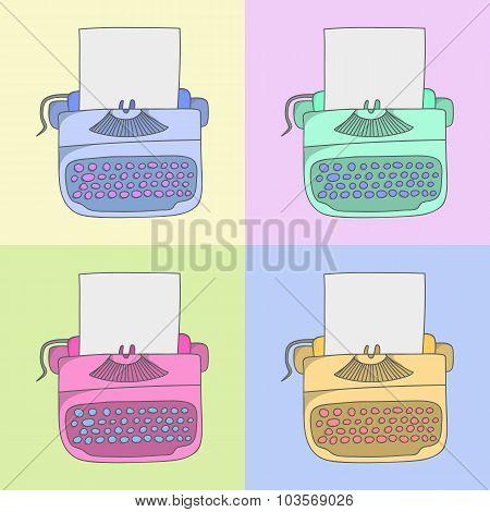 stylish typewriter