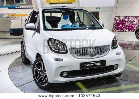 2015 smart fortwo cabrio