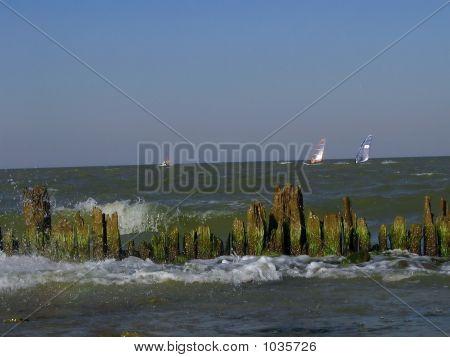 Alte Wellenbrecher