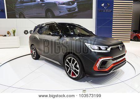 2015 SsangYong XLV Concept