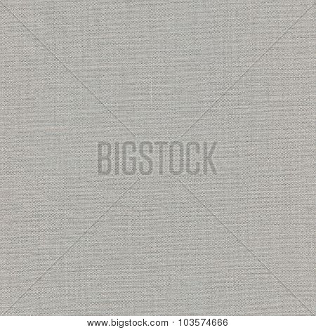 Grey Khaki Cotton Fabric Texture Background, Detailed Macro Closeup, Large Vertical Textured Gray